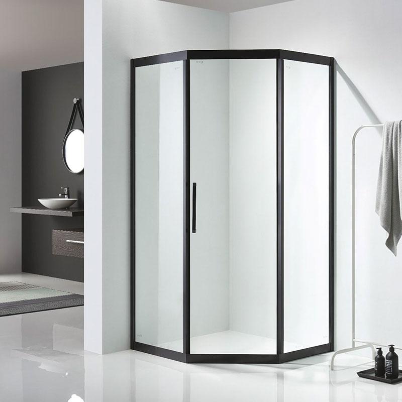 K-N33 钻石型/二固单开门淋浴房