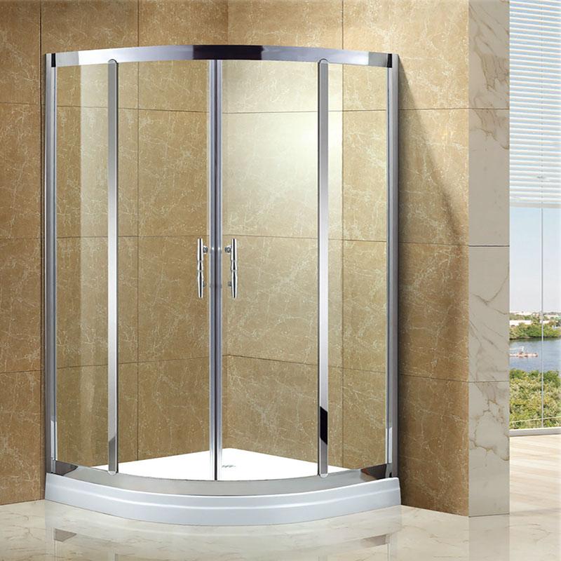 K-YS-A19 扇型/二固二移淋浴房